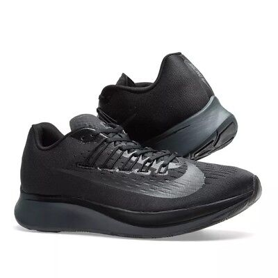784aad8c985e Nike ZOOM FLY Men s Running Shoes triple Black Anthracite 880848 003 size 9