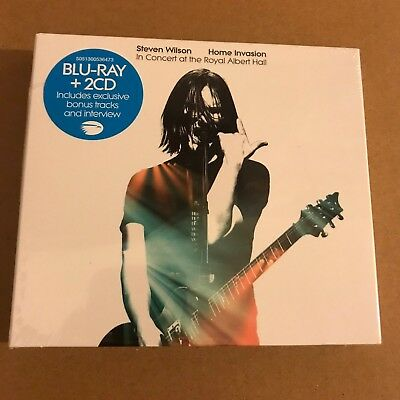 "Steven Wilson ""Home Invasion Concert At Royal Albert Hall"" 2CD Blu-Ray Sealed"
