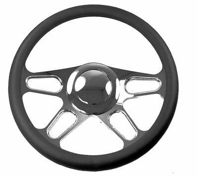 1969 1982 corvette black leather steering wheel 99 95 picclick 1963 Buick Special 1969 94 chevy and gm cars 14 black leather 4 spoke steering wheel