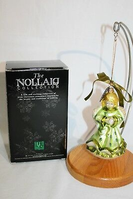Nollaig 'Blarney Glass' Irish Handblown Glass Christmas Ornament Made in Ireland