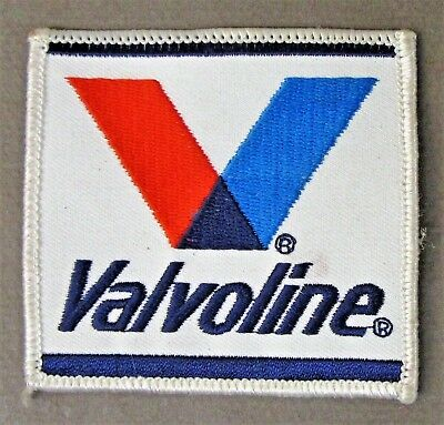 vintage VALVOLINE shirt jacket patch Hydroplane boat and car racing c3