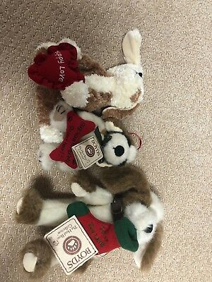 Lot Of Three Boyds Bear Dogs