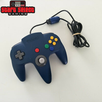 Blue N64 Nintendo 64 Controller Genuine Official 4.5/10 FREE POST