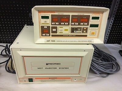MedRad MCT CT Injector Console C14RU + Control Panel RPM AS-IS