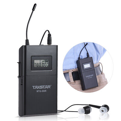 TAKSTAR WTG-500R UHF Wireless Acoustic Transmission Receiver 100m Effective F6J3