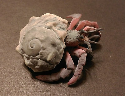 RARE Kaiyodo Epoch Red Orange Hermit Crab Figure Nice!