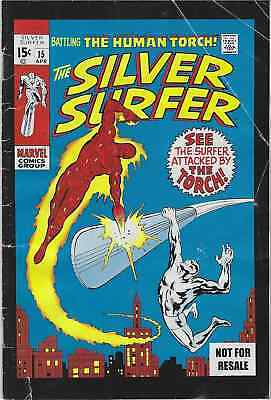 Silver Surfer 15 Rare Mini Dvd Giveaway Promo Comic Human Torch Vg Promotional
