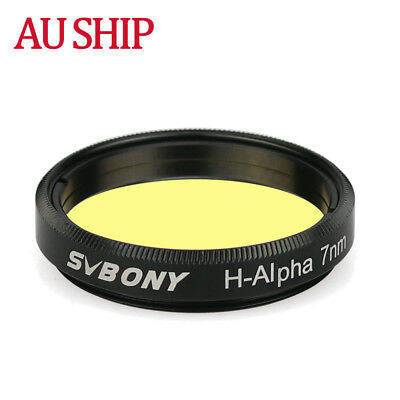 """SVBONY  H-Alpha 7nm 1.25"""" Filters Narrowband Astronomical Photographic Filter AU"""