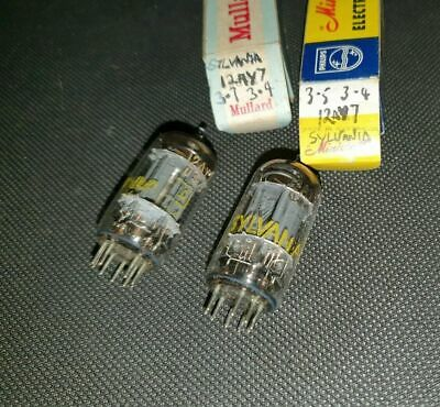 12AY7 RCA? made in the USA , audiophile quality