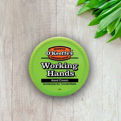O'Keeffe's Working Hands Cream 96g For Dry Cracked Hands Split Skin Non Greasy