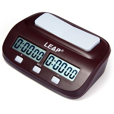 Digital Chess Clock I-go Count Up Down Timer for chess competition and play game