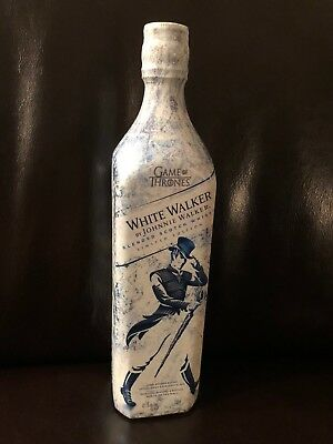 Johnnie Walker White Walker Game Of Thrones Limited Edition Collectable Bottle