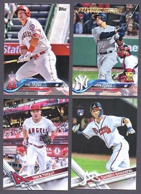 2012 2013 2014 2015 2016 2017 2018 Topps Lot Complete Your Set With 20 Picks