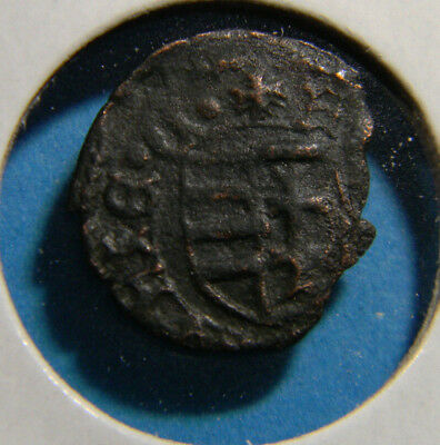 Medieval Bronze coin  (0556)