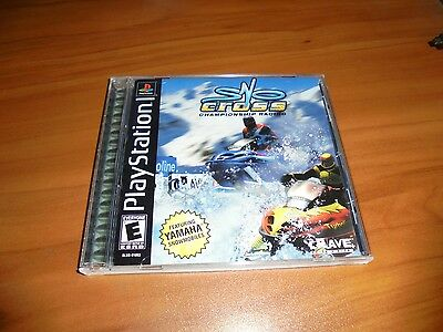 Sno-Cross Championship Racing (Sony PlayStation 1, 2000) Used Complete Snow