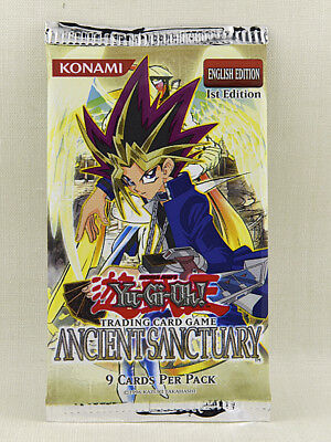 Yu-Gi-Oh! Booster Pack  Ancient Sanctuary English, First Edition, OVP, OOP