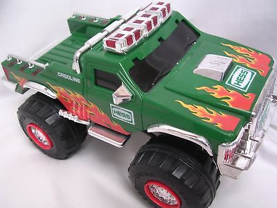 2007 Hess Monster Truck with Two Motorcycles Toy  LN in Box Rare Collectible