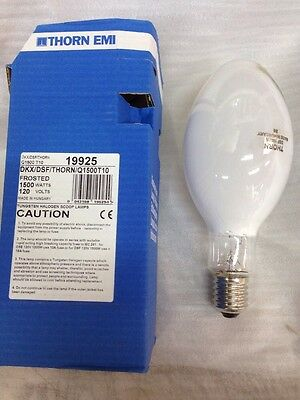 DKX / DSF Q1500T10 Stage/Studio Bulb 1500W Tungsten Halogen Scoop Lamp Frosted