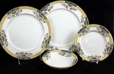 Lenox China THE ORCHARD 4 Piece Assortment Vintage T-1 GOOD CONDITION