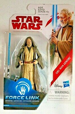 Star Wars Obi-Wan Kenobi Force Link 3.75 Inch Figure Hasbro