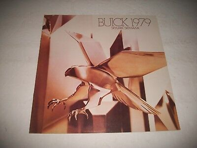 1979 Buick Skylark Skyhawk Sales Brochure Cdn Market Issue Excellent
