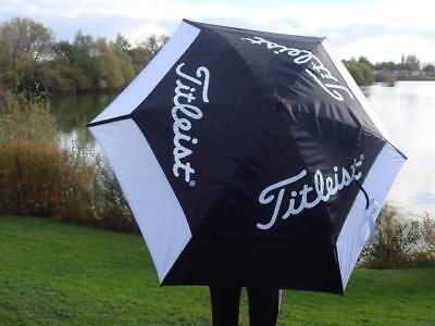 Titleist - Staff Tour Double Canopy Umbrella + FREE Tour Tees