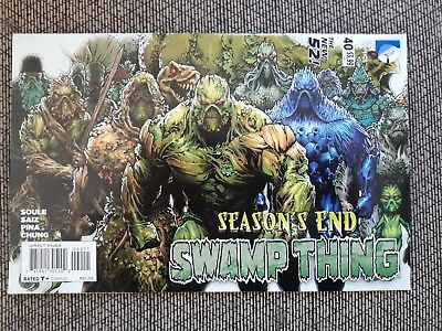 Swamp Thing # 40 New 52 (2015) News Stand version - good condition