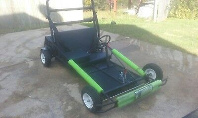 SIDNE Impaired Driving Electric Go Cart and Custom Built Trailer SIDNE GO CART