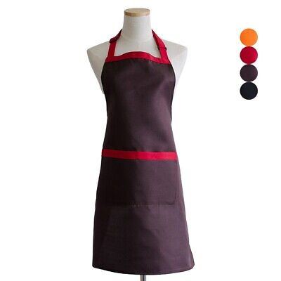 Apron With Pocket Unisex Kitchen Cooking Uniform Barista Florist Chef Workwear