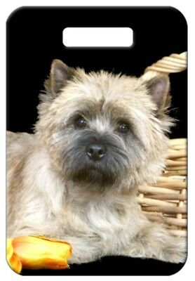 Set of 2 Cairn Terrier Luggage Tags