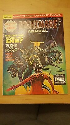 Nightmare 1972 Annual -Giant - NEVER OPENED/READ - EXCELLENT CONDITION