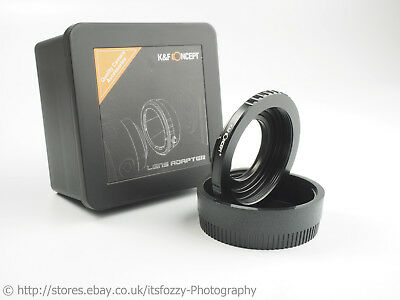 K&F Concept M42 to Nikon Adapter with Corrective Coated Optic for Infinity Focus