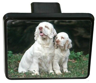 Clumber Spaniel Trailer Hitch Cover