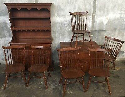 ethan allen dining room table and 10 chairs 1 800 00 picclick rh picclick com Ethan Allen Pine Dining Room Chairs Used Ethan Allen Dining Table