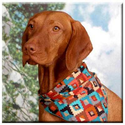 "Vizsla 4"" Decorative, Cork Backed, Ceramic Tile"