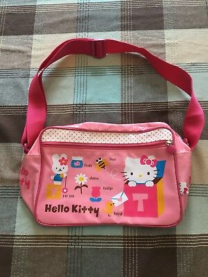 706bab41644 2011 Sanrio Collectible Hello Kitty Friends Tote Bag Duffle Bag Style Pink  Purse