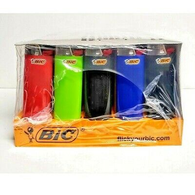 BIC Regular Size lighter Counter Display of 50 + 3 Free Special Lighters