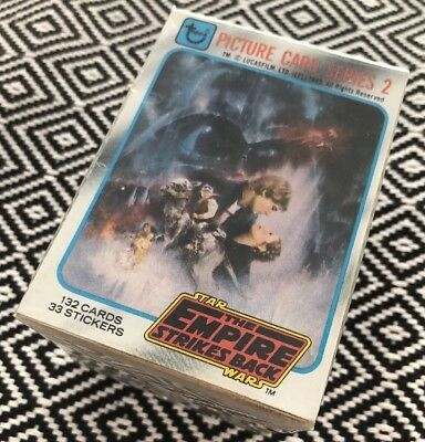 Topps Star Wars 1980 EMPIRE SERIES 2 SET trading cards