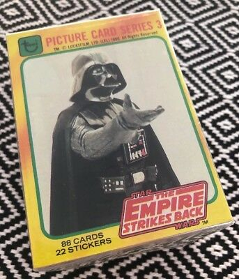 Topps Star Wars 1980 EMPIRE SERIES 3 SET trading cards