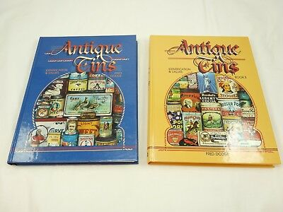 Antique Tins Identification & Values Collectors Guide Books By Fred Dodge
