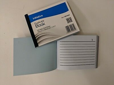 Invoice Duplicate Receipt Book Numbered Cash 1 - 100 Pages Pad