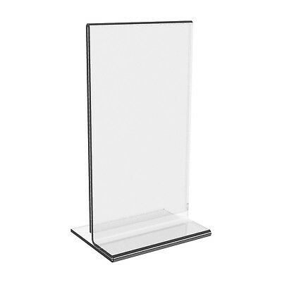 Acrylic two sided clear prop stand A3 size. Minimum purchase 10pcs.