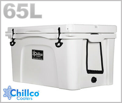 65L Chillco Ice Box Cooler  Esky Chilly Bin Superior Ice Retention
