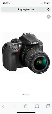 Nikon D3400 DSLR Camera With 18-55mm Lens -- With BOX LAST CHANCE TO BUY