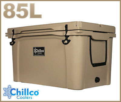 85L Chillco Ice Box Cooler Chilly Bin Superior Ice Retention
