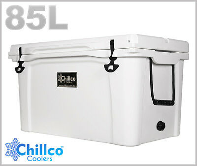 85L Chillco Ice Box Cooler Esky Chilly Bin Superior Ice Retention