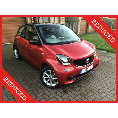 2015 65 SMART ForFour 1.0 Passion 71 BHP S/S Car for4 fortwo prime 5dr FMSH Red