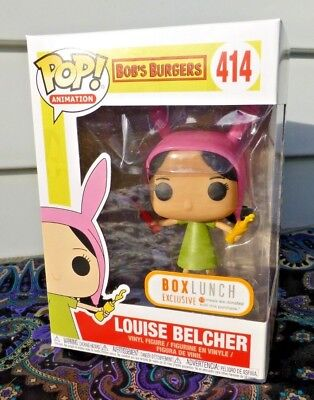 Funko POP! Animation Bob's Burgers 414 Louise Belcher BoxLunch Exclusive *NEW*