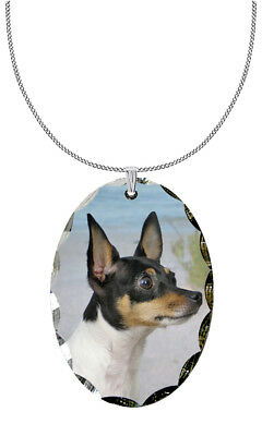 Toy Fox Terrier Pendant / Necklace