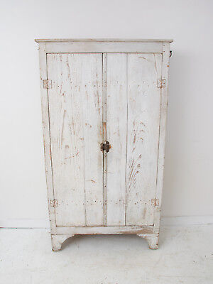 Antique French Pine Armoire